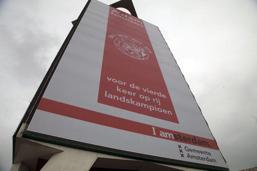 Steigerdoek Ajax bedrukken